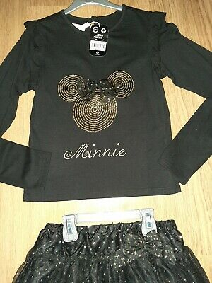 BNWT Fantastic Minnie Mouse 2 piece party outfit 9-10 years