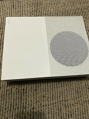 Microsoft Xbox One S - 2TB Console (White) - Model 1681 (No Controllers Or Wires