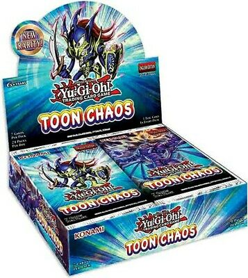 Toon Chaos Booster Box Sealed - Pre Order - Ship June 19th 2020