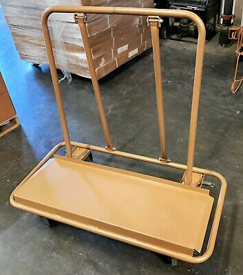 Drywall Cart Dolly Handling Plywood Sheets 4 swivel casters High Quality