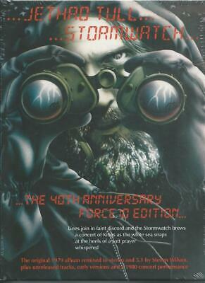 JETHRO TULL Stormwatch The 40th Anniversary Force 10 Edition SEALED 3CD/2DVD