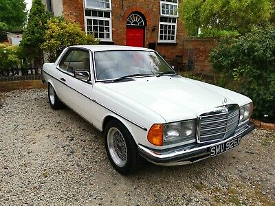 1981 Mercedes 230CE Coupe in White