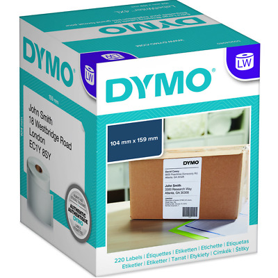 Genuine Dymo LabelWriter 4XL 220 Shipping Labels Roll 104X159mm S0904980 eParcel