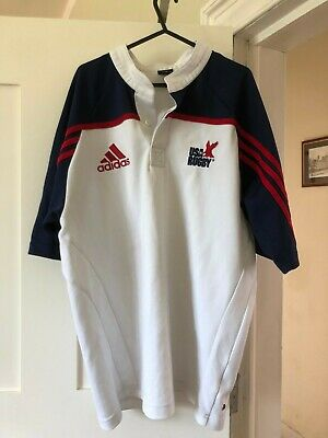 USA Rugby union shirt 2003 - white, used but good condition, large