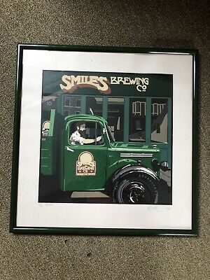 Smiles Brewing Co. limited edition print Kevin Hemmings Bristol RRP£115