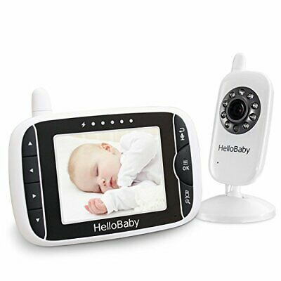 HelloBaby Wireless Video Baby Monitor with Digital Camera, Night Vision