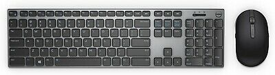 NIB Dell Premier KM717 Wireless Keyboard & Mouse With Dongle & Batteries