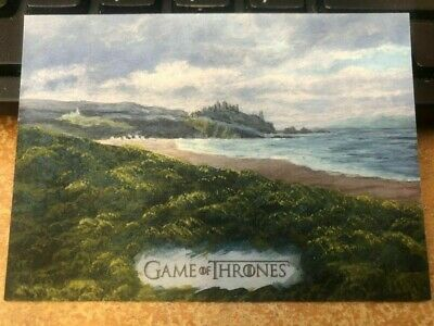 2019 Game of Thrones Inflexions SKETCH CARD 1/1 BY DAN BERGREN Rittenhouse
