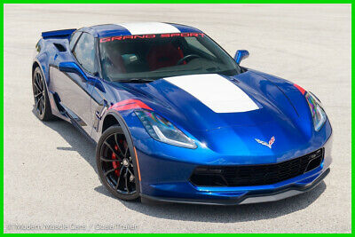 2017 Chevrolet Corvette Grand Sport 2LT 7-Speed Manual, Red Seats, PDR, Heads-up, Bose Advanced Audio, Very Clean!!