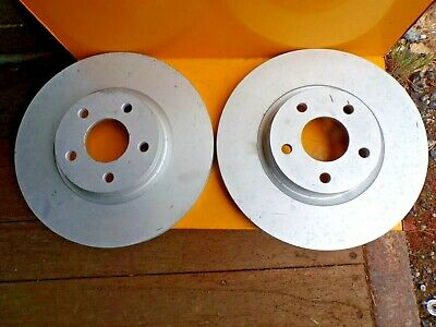 Vented Front 10 to 13 320mm Set QH New Pair VOLVO C70 MK2 2.0D 2x Brake Discs