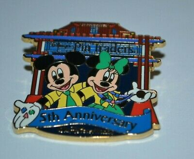 Disney's Pin Traders 5th Anniversary Mickey & Minnie Mouse Pin 55731