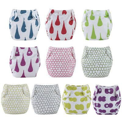 Baby Training Pants Panties Reusable Washable Cloth Diapers Nappy Changing $S1
