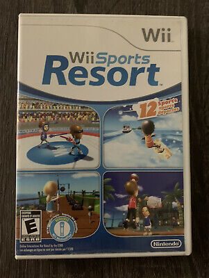 Wii Sports Resort Nintendo Wii 2009 COMPLETE CIB Tested Golf Frisbee Bowling Etc