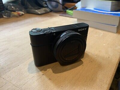 Sony Cyber-shot DSC-RX100M6 20.1 MP Super Fast Digital Camera - Black