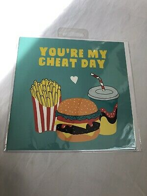 Your My Cheat Day Card