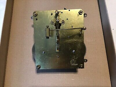 Vintage Perivale 8 Day Striking Clock Movement For Spares Or Repair