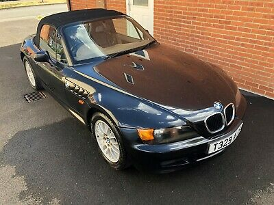 BMW Z3 Roadster 1.9 140bhp Metallic Black