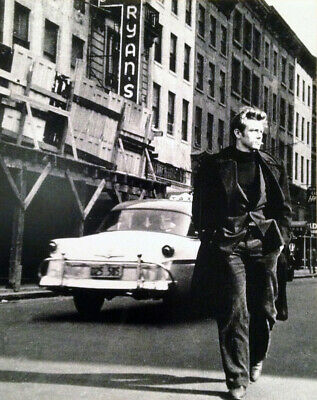 James Dean Retro Photo