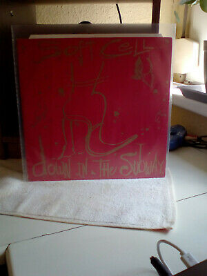 """Soft Cell   12"""" Vinyl   Down In The Subway"""
