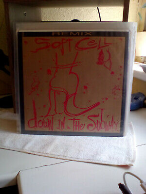 """Soft Cell   12"""" Vinyl   Down In The Subway (Extended Remix)  rare u.k. press"""