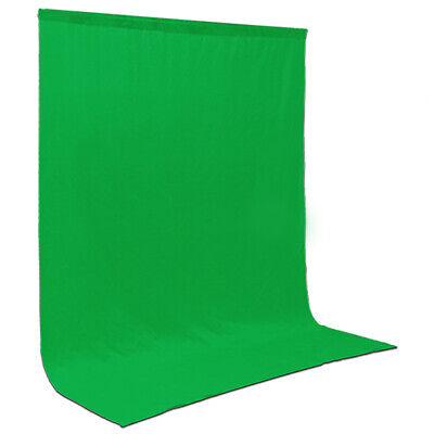 6x9 ft Chroma Green Screen Back-Drop Background Chromakey Muslin Zoom Meetings