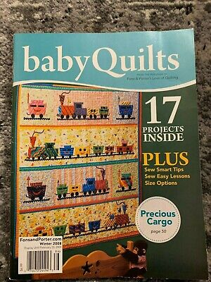 """""""Baby Quilts"""" By Fons & Porter Love of Quilting Winter 2008 Magazine"""