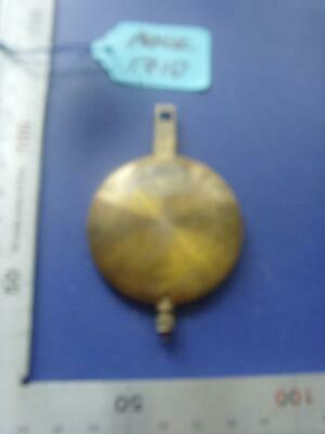pen#1710 1930'S mantle clock  pendulum  80mm max length,