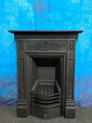 BICLAM Victorian cast iron fire ,  DELIVERY FREE OR most £35 Uk