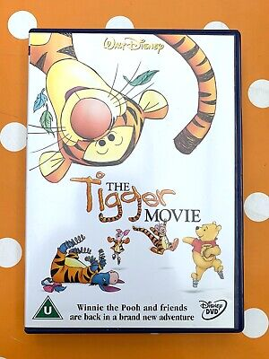 Disney Pooh and Tigger Movie Character Iron On T-Shirt Transfer A5
