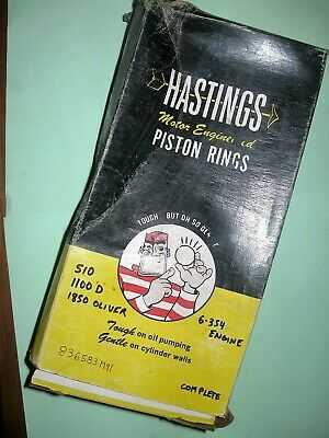 Massey, Oliver Tractor NOS Piston Rings Kit Part# 836583m91