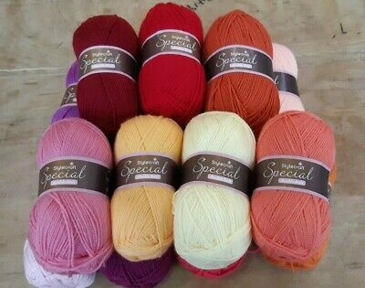 Comlete yarn pack for Attic 24 Dahlia crochet blanket Stylecraft special