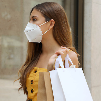 KN95 Mask - Face Mask Disposable Masks Multi-Layer - Protective Respirator 9 pcs
