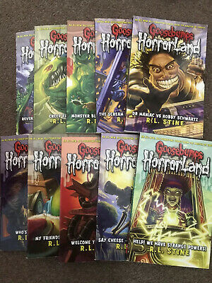 Goosebumps Horrorland Series Collection by R.L. Stine (2008, Paperback)