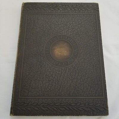 The Osteoplast Yearbook Kirksville College Osteopathy 1929 Illustrated Autograph
