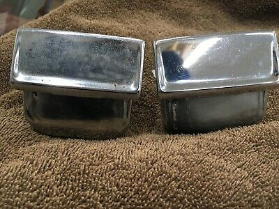 1966-70 Mopar B-Body Rear Ashtrays coupe hardtop armrest