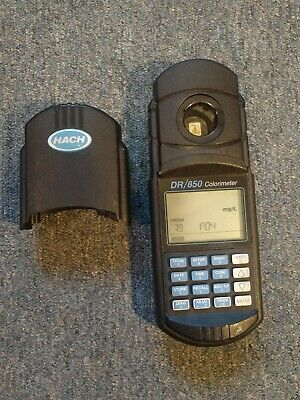 Hach DR/850 Colorimeter Field Mobile Water Tester