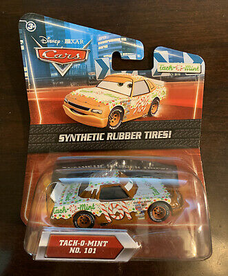 101 With Synthetic Rubber Tires! VHTF DISNEY CARS DIECAST Tach-O-Mint No
