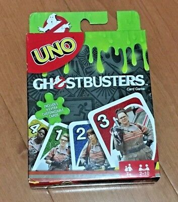 New Uno Card Game Special 2016 Ghostbusters Movie Edition!