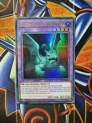 Yugioh Mudragon of The Swamp CT15-EN005 Ultra Rare Limited Edition