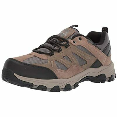 SKECHERS SELMEN Helson Chocolate Choc Mens Hiking Shoe