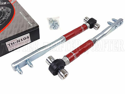 TruHart Front PillowBall Tension Rods for 240SX S13 S14 90-96 300ZX Z32