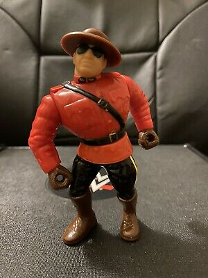WWE Jakks THE MOUNTIE Wrestling Figure Accessories RARE Mattel JACQUES ROUGEAU