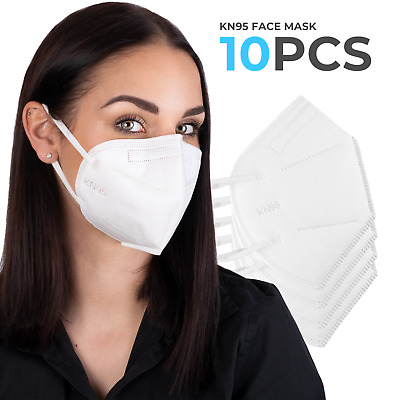 KN95 Mask Face Mask Disposable Masks Protective Respirator Breathable - 15 pcs
