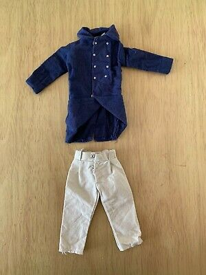 VINTAGE ACTION MAN 40th LOOSE NAVY BLUE TROUSERS