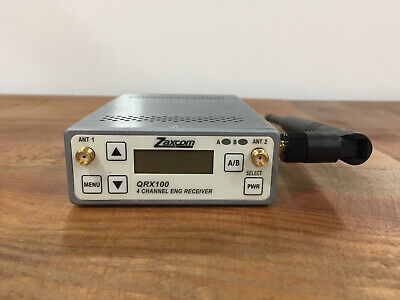 Zaxcom QRX 100. UHF diversity audio receiver. Built-in IFB channel transmitter