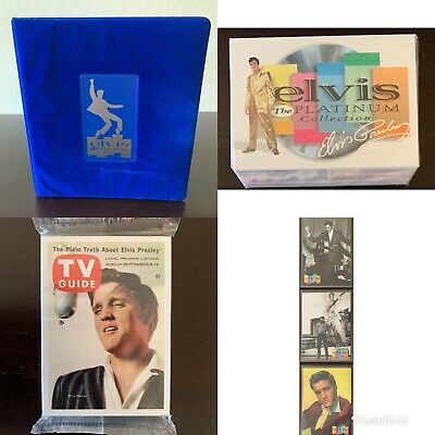 Elvis: The Platinum Collection - Binder, Base Set, 3 Promos - Inkworks 1999