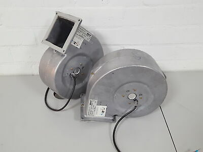 2x EBM G2E160-AD01-01 AC Centrifugal Fan Extractor Fume Vent Lab