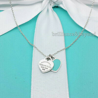 Return To Tiffany Co Xl Huge Silver Heart Tag Pendant Charm Uk Hallmarked 184 49 Picclick