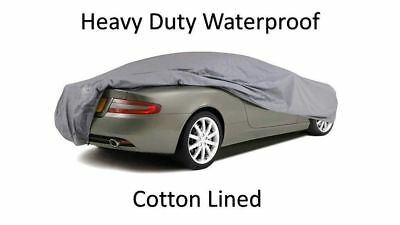 Vw Volkswagen Eos 06 On - Premium Fully Waterproof Car Cover Cotton Lined Luxury