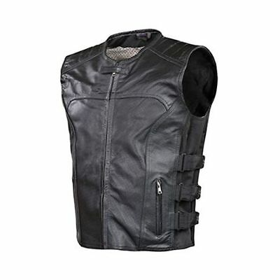HCCX Moto Ciclismo Gilet Punk retr/ò Classico Patch Giacca Moto in Pelle Golden Eagle Ricamo Distintivo Design Cycling Club Casual Usura-Outdoor Sportswear